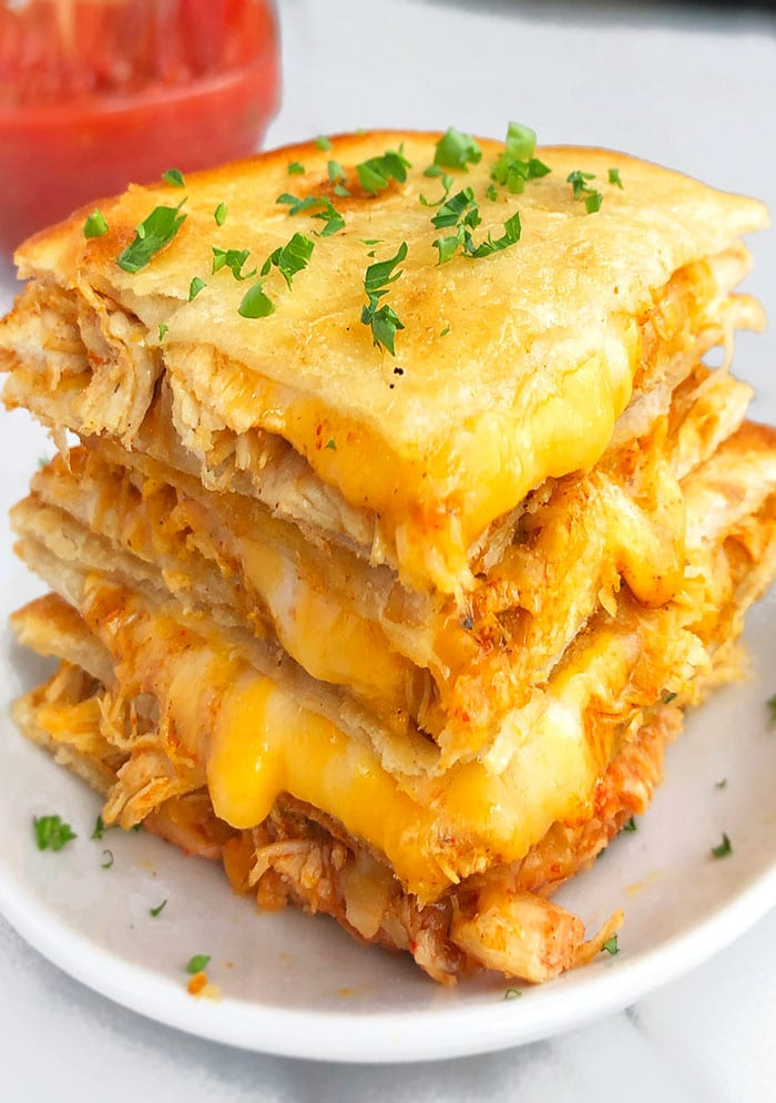 Mexican Chicken and Cheese Quesadilla