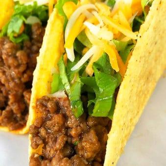 Easy Ground Beef Tacos Recipe