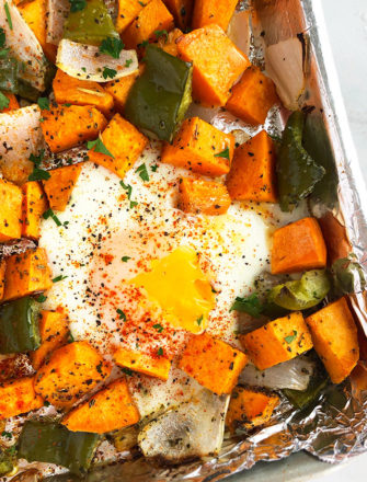 Easy Sweet Potato Hash Recipe