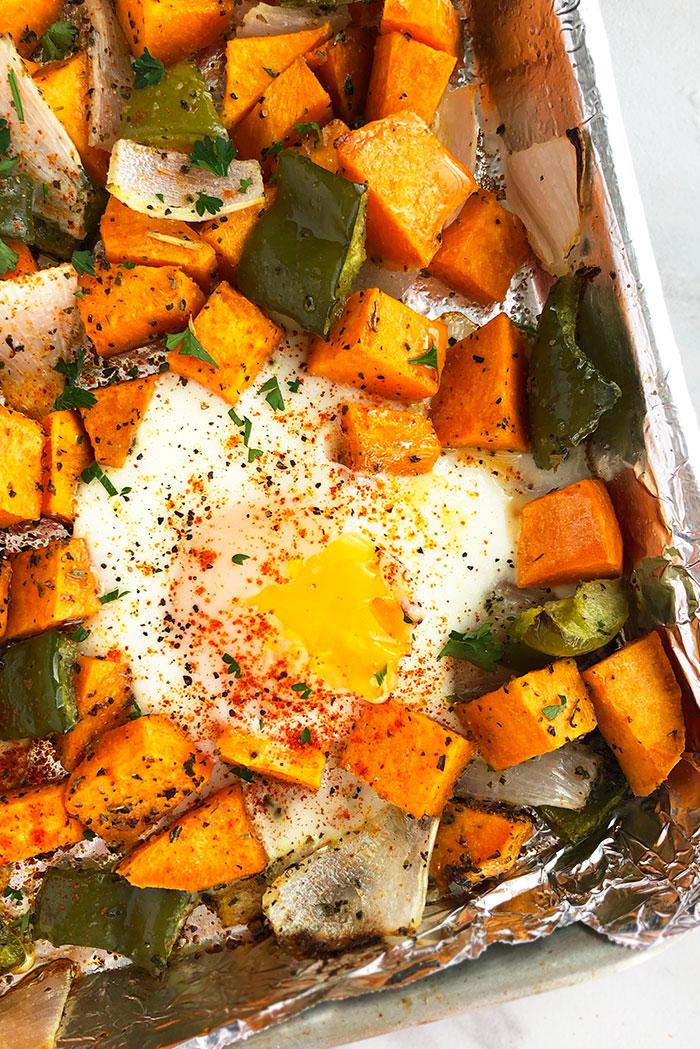 Easy Sweet Potato Hash Recipe