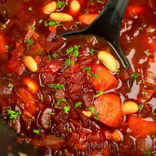 Beet Borscht Soup One Pot One Pot Recipes