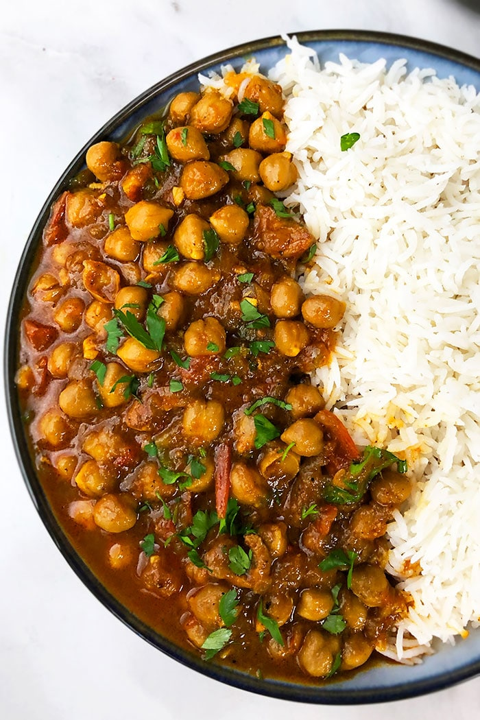 Best Easy Chickpea Curry