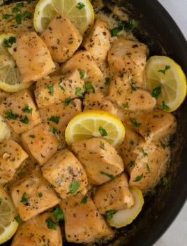 Creamy Lemon Garlic Chicken Recipe