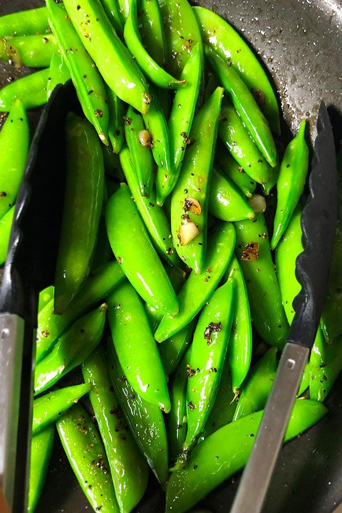Sauteed Sugar Snap Peas Recipe