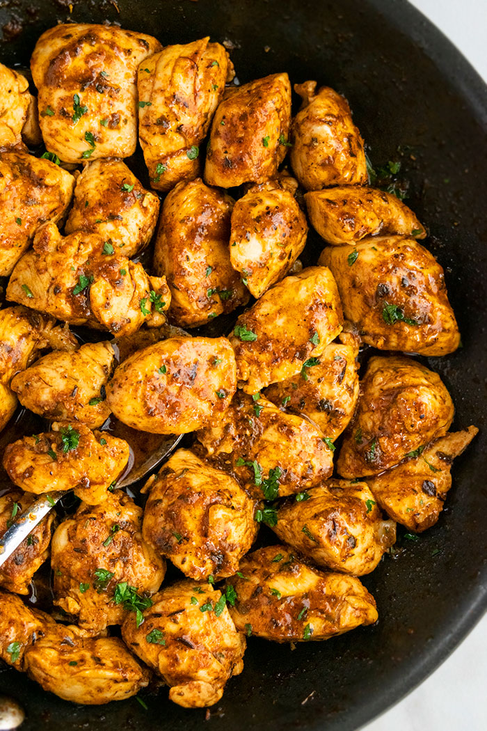 Spicy Chicken with Cajun Seasoning