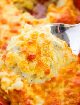 Spoonful of Cheesy Hashbrown Casserole